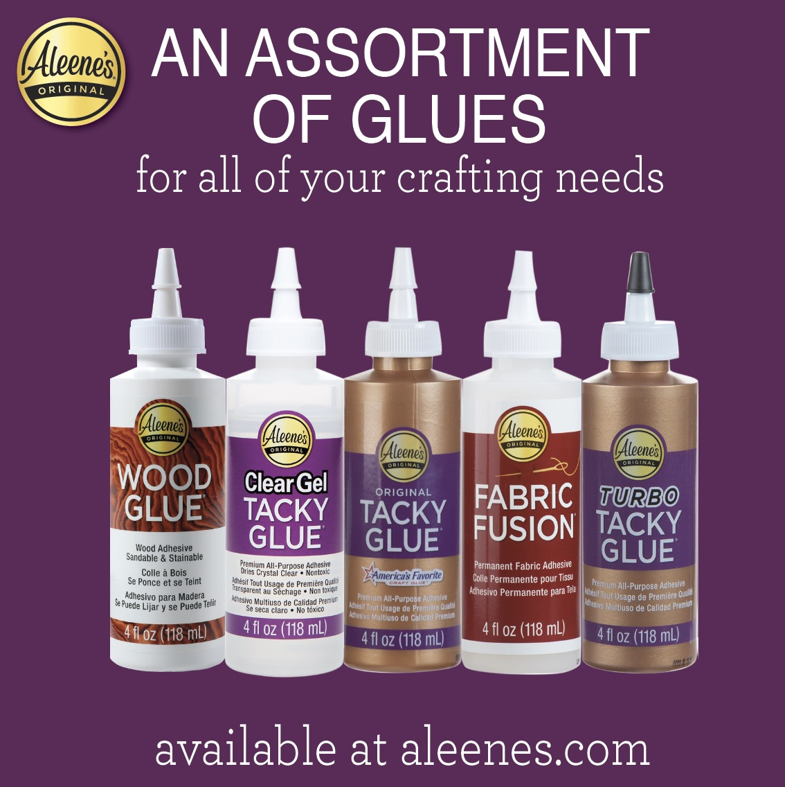 Aleene's Assortment of Glues